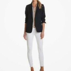 Pendleton 100% Virgin Wool Black Blazer Size 8